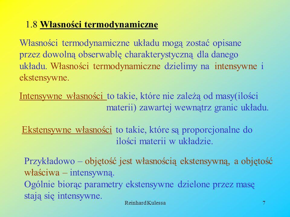 Reinhard Kulessa8 Układ termodynamiczny może również składać się z więcej niż z jednej fazy.