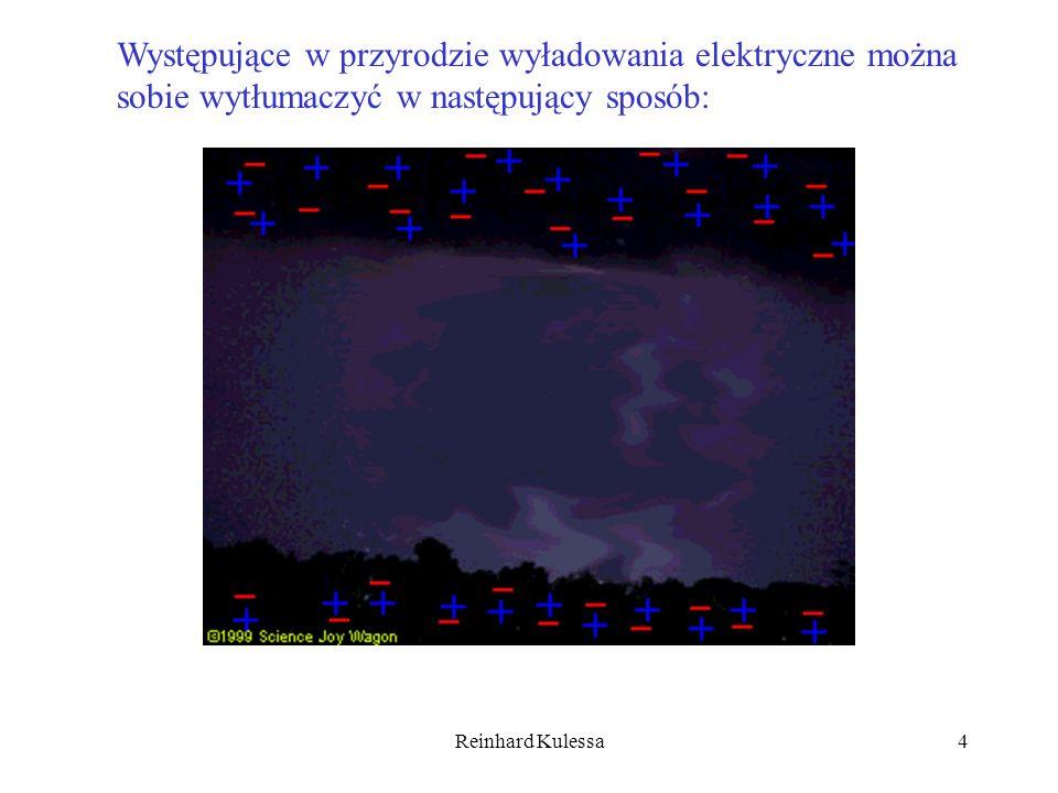 Reinhard Kulessa5 Zjawisk, które potwierdzają istnienie ładunków jest wiele.