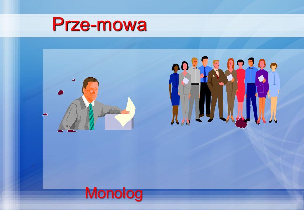 Prze-mowa Monolog
