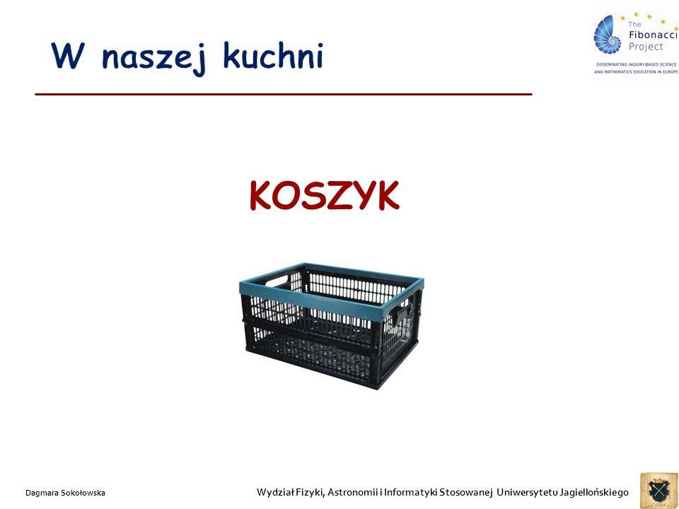 Wydział Fizyki, Astronomii i Informatyki Stosowanej Uniwersytetu Jagiellońskiego Dagmara Sokołowska KOSZYK
