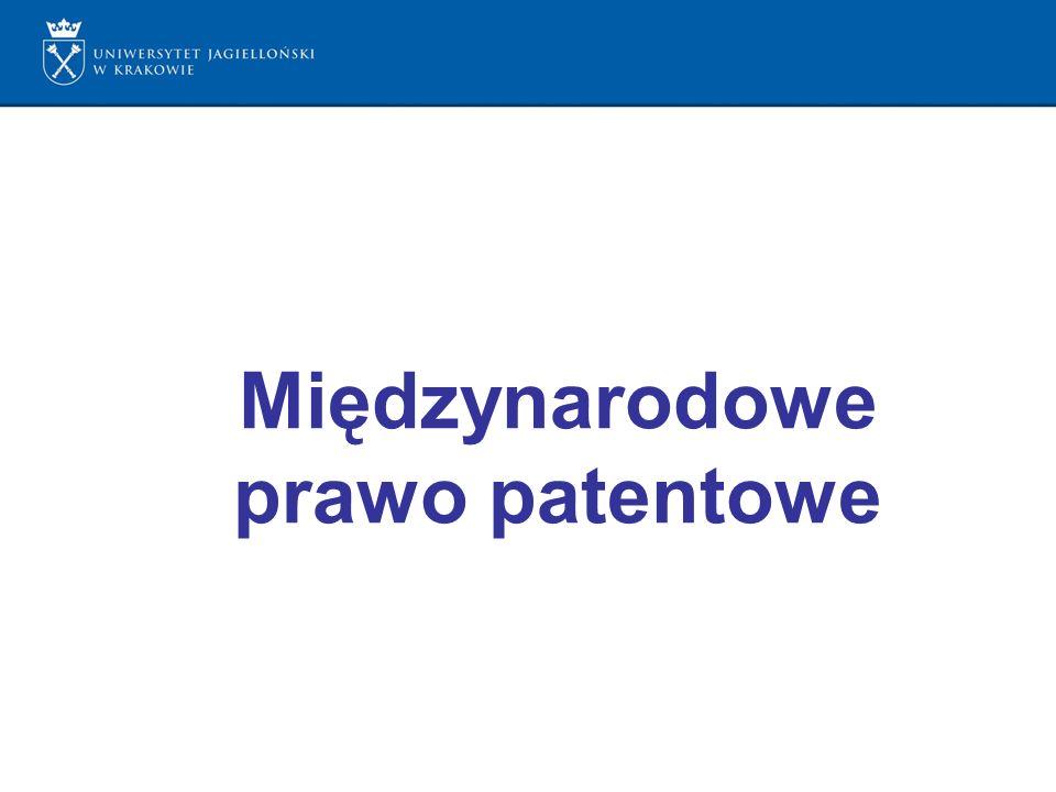 Międzynarodowe prawo patentowe
