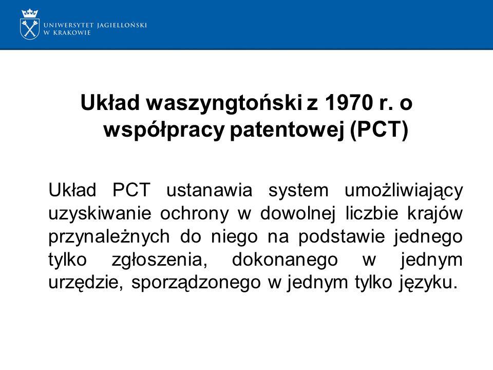 Układ waszyngtoński z 1970 r.