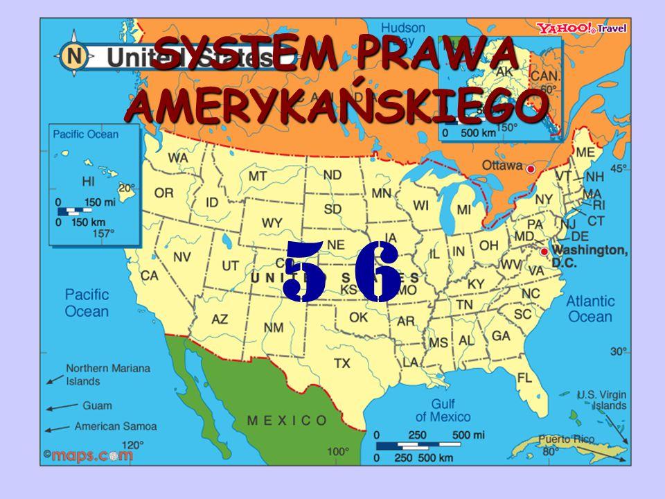 SYSTEM PRAWA AMERYKAŃSKIEGO 5 6