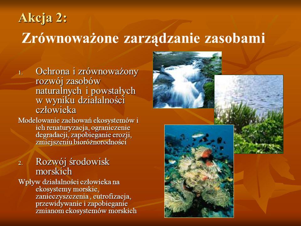 Akcja 2: Akcja 2: Zrównoważone zarządzanie zasobami 1.