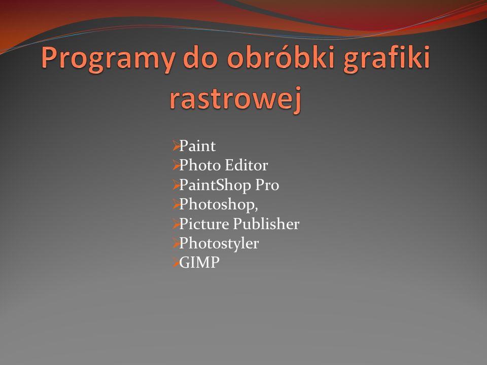 Paint Photo Editor PaintShop Pro Photoshop, Picture Publisher Photostyler GIMP