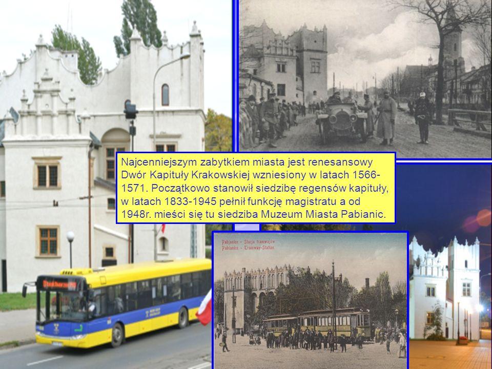 Najcenniejszym zabytkiem miasta jest renesansowy Dwór Kapituły Krakowskiej wzniesiony w latach 1566- 1571. Początkowo stanowił siedzibę regensów kapit