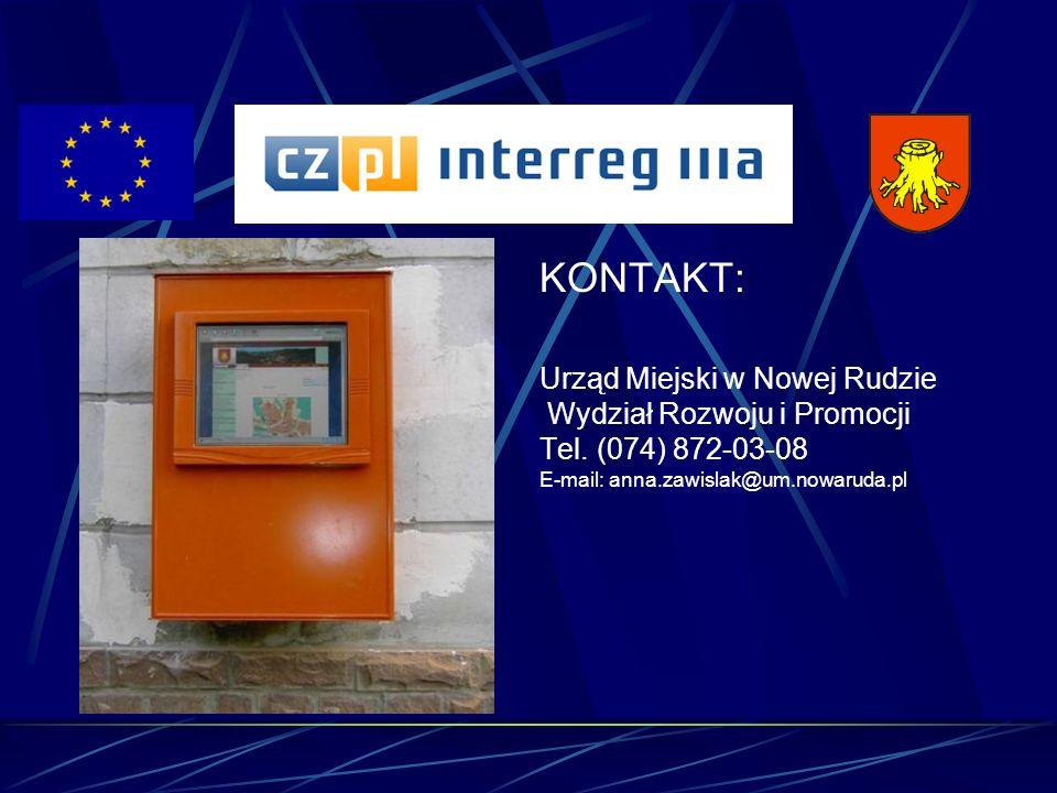 KONTAKT: Urząd Miejski w Nowej Rudzie Wydział Rozwoju i Promocji Tel.
