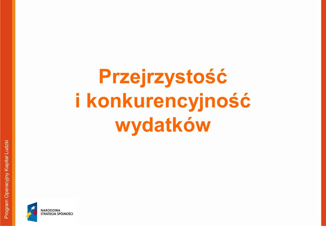 97 Projekty partnerskie Projekty PO KL mogą być realizowane w formule partnerstwa.