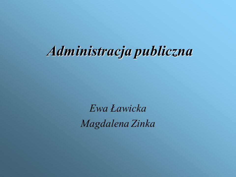 Administracja Administracja (łac.