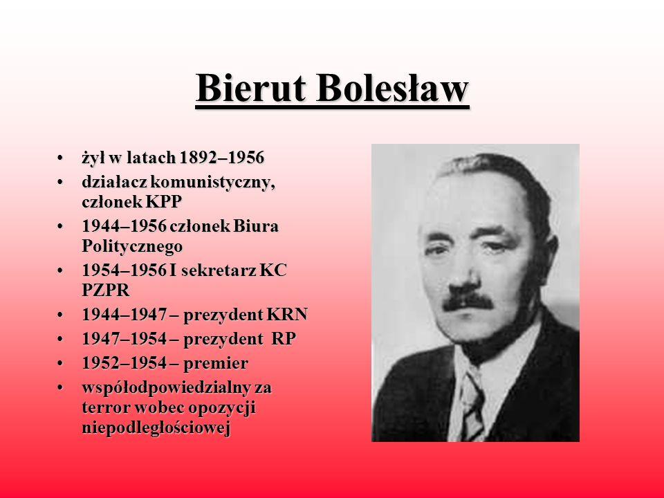 Kaczorowski Ryszard urodzonyurodzony w 1919 roku 1940–19421940–1942 – w sowieckim więzieniu 19671967 - przewodniczący ZHP na uchodźstwie odod 1982 czł
