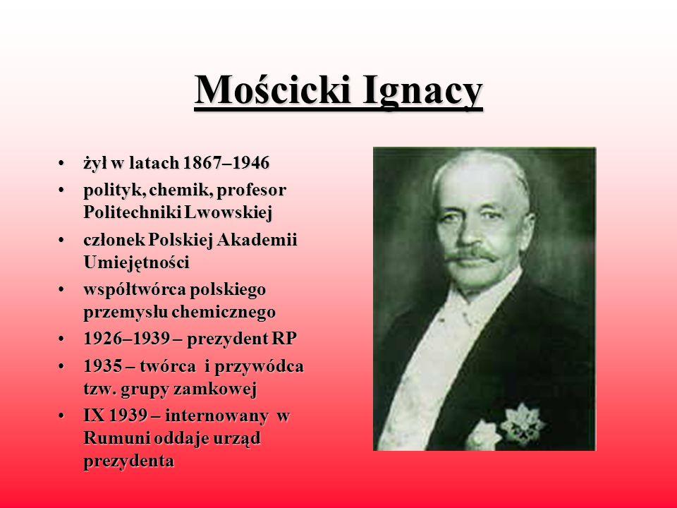 Wojciechowski Stanisław żyłżył w latach 1869–1953 polityk,polityk, teoretyk i działacz spółdzielczości, współtwórca PPS 1919–19201919–1920 – minister