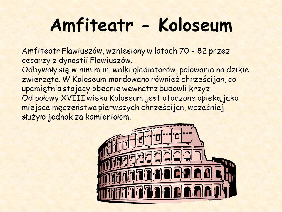 Łuk triumfalny Łuk triumfalny Konstantyna Wielkiego To budowla w kształcie monumentalnej, wolno stojącej bramy stawiana dla upamiętnienia ważnej osoby lub uczczenia ważnego wydarzenia, zwykle zwycięstwa militarnego.