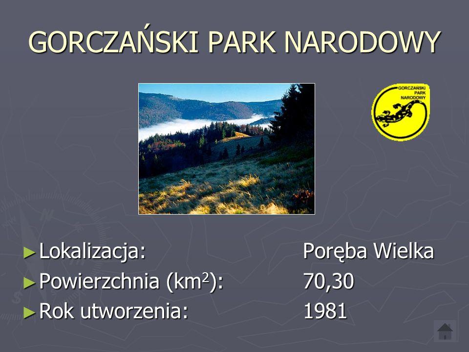 SŁOWIŃSKI PARK NARODOWY Lokalizacja: Smołdzino Lokalizacja: Smołdzino Powierzchnia (km 2 ): 186,18 Powierzchnia (km 2 ): 186,18 Rok utworzenia: 1967 Rok utworzenia: 1967