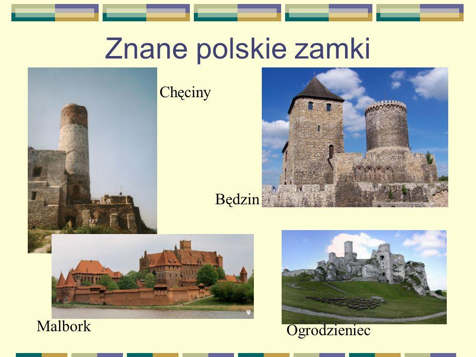 Mieszkańcy zamku Właścicielami zamku byli rycerze.