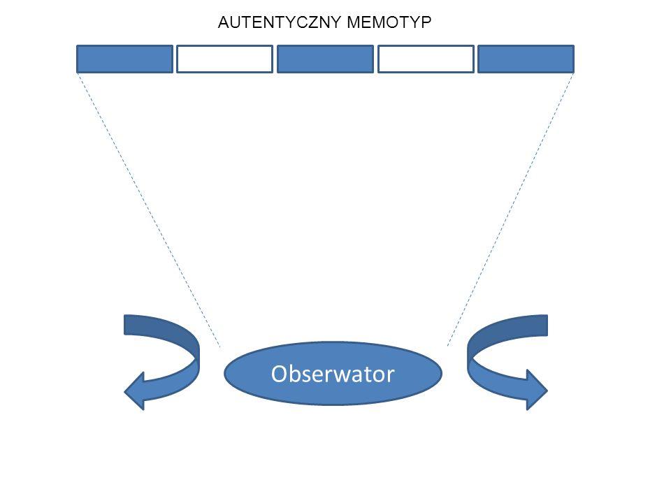 Obserwator AUTENTYCZNY MEMOTYP
