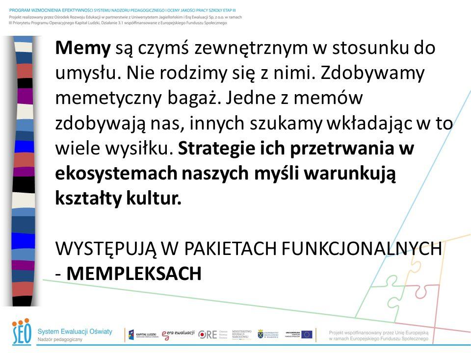 MEMOTYP S + MEMOTYP D + MEMOTYP GR Grupa rówieśnicza Dom Szkoła