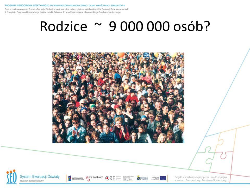 Rodzice ~ 9 000 000 osób?