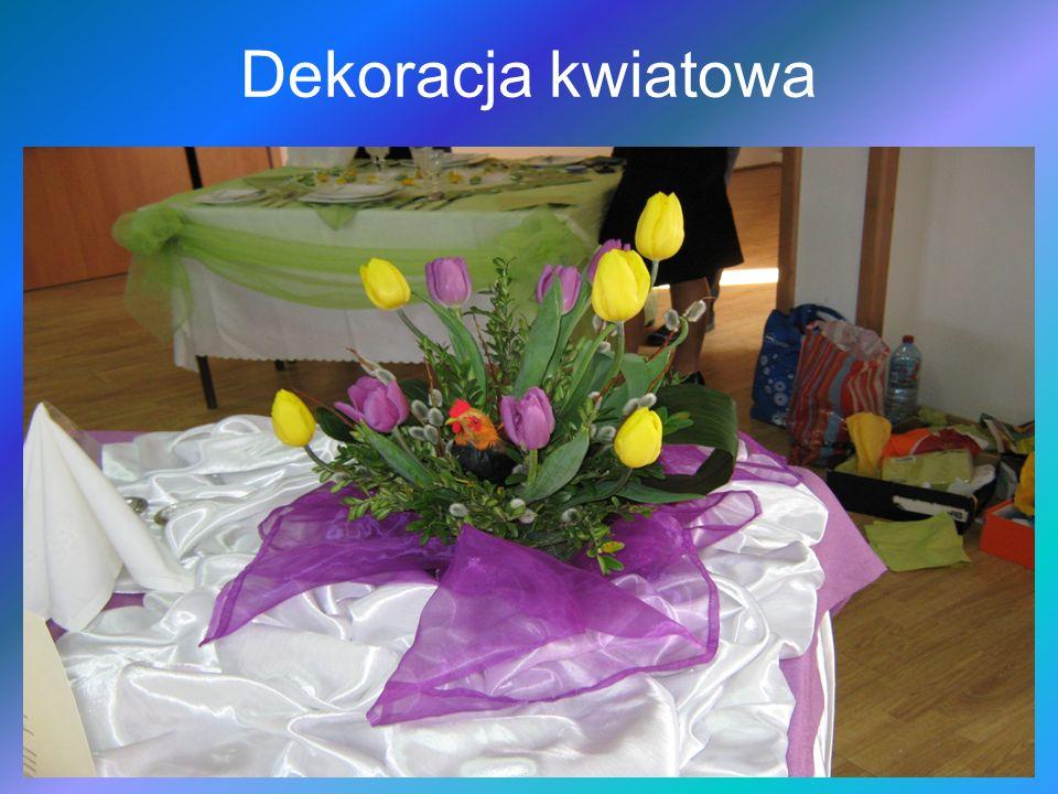 Dekoracja kwiatowa