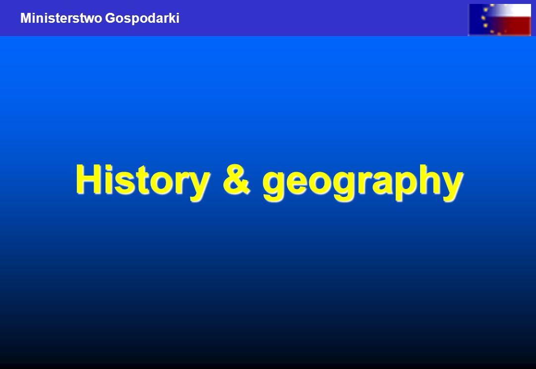 Ministerstwo Gospodarki History & geography