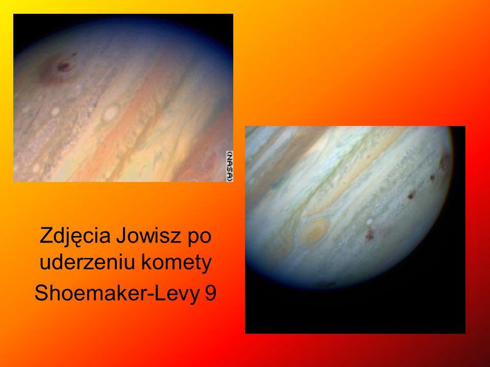 Zdjęcia Jowisz po uderzeniu komety Shoemaker-Levy 9