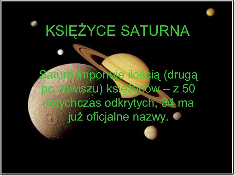 Źródła: http://adk.astronet.pl/saturnk.shtml http://pl.wikipedia.org/wiki/Saturn http://ksiezyce.republika.pl/ http://www.wiw.pl/astronomia/0608-c2- us.asphttp://www.wiw.pl/astronomia/0608-c2- us.asp http://www.wiw.pl/astronomia/a- pierscienie.asphttp://www.wiw.pl/astronomia/a- pierscienie.asp