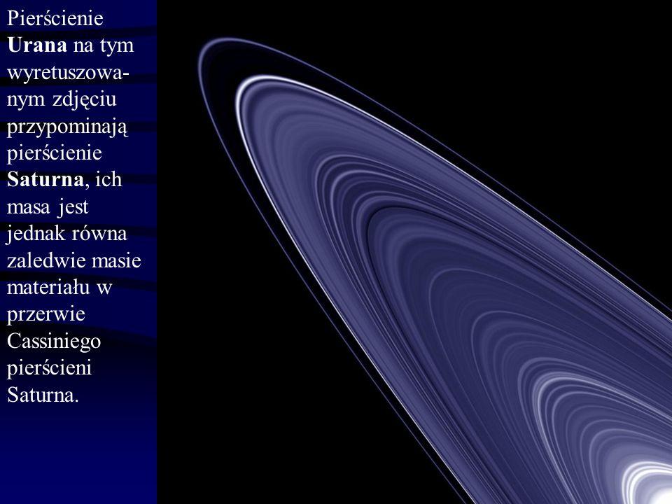 Pierścień epsilon 1.Pierścienie znacząco różnią się ciągłością i rozmiarami: alfa ok.