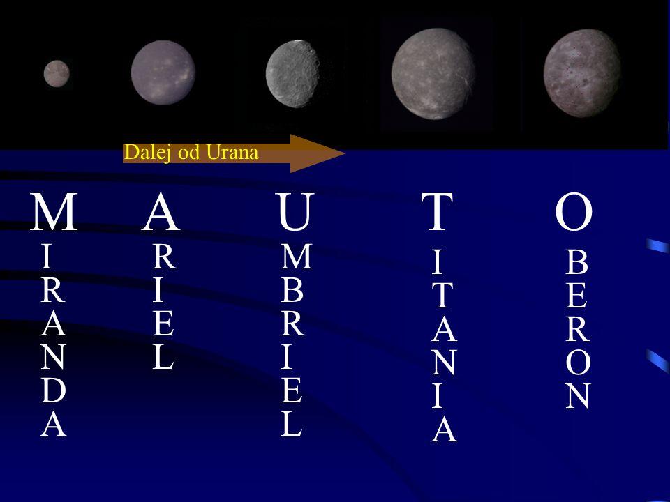 Księżyce Urana możemy podzielić na 3 kategorie: *5 dużych zewnętrznych *13 wewnętrznych *nieregularne