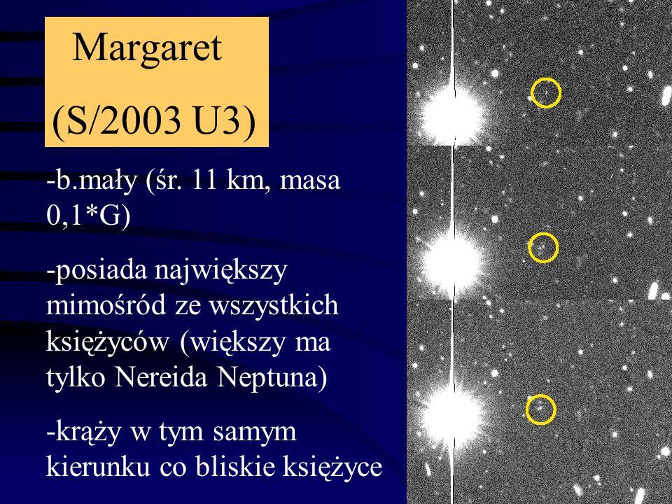 Księżyce z 2001: Trinculo: S/2001 U2: -b.małe - śr.