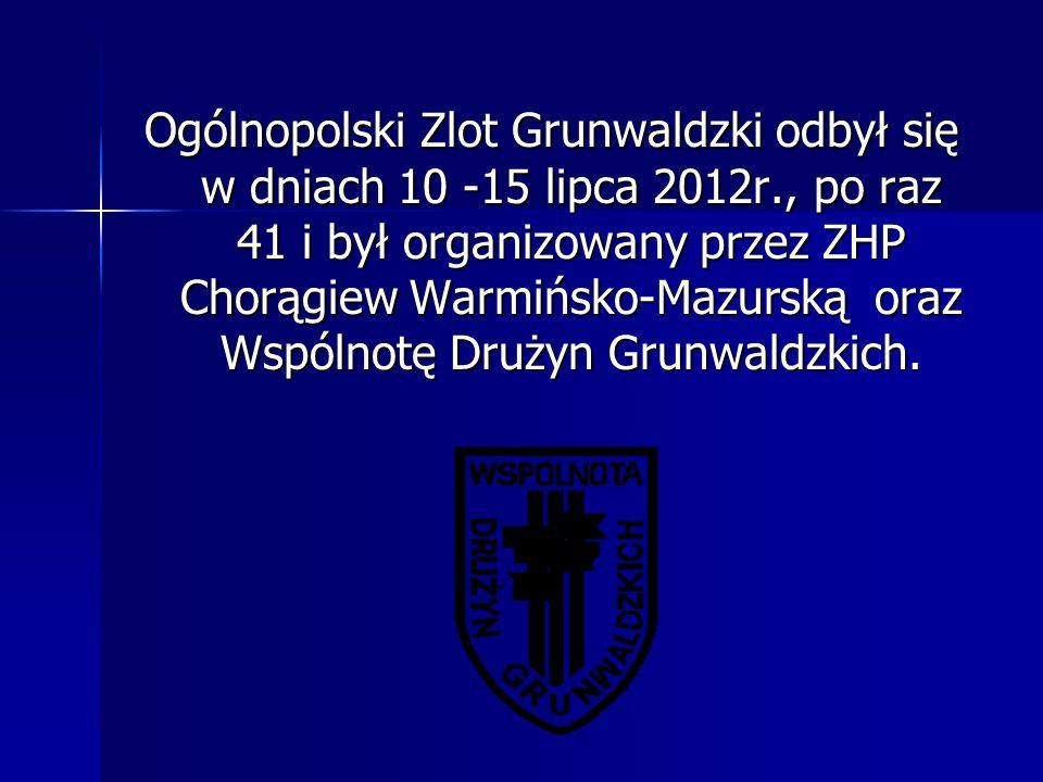 Ogólnopolski Zlot Grunwaldzki odbył się w dniach 10 -15 lipca 2012r., po raz 41 i był organizowany przez ZHP Chorągiew Warmińsko-Mazurską oraz Wspólno