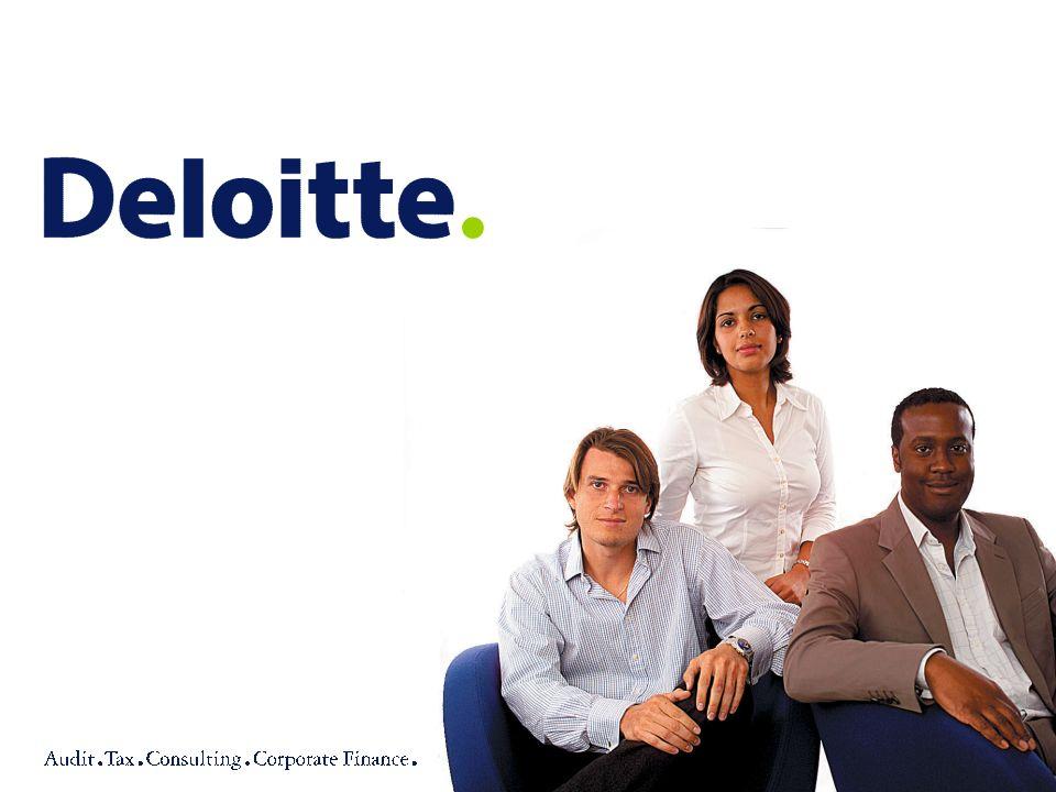 32© 2004 Deloitte & Touche Doradztwo Podatkowe Sp.