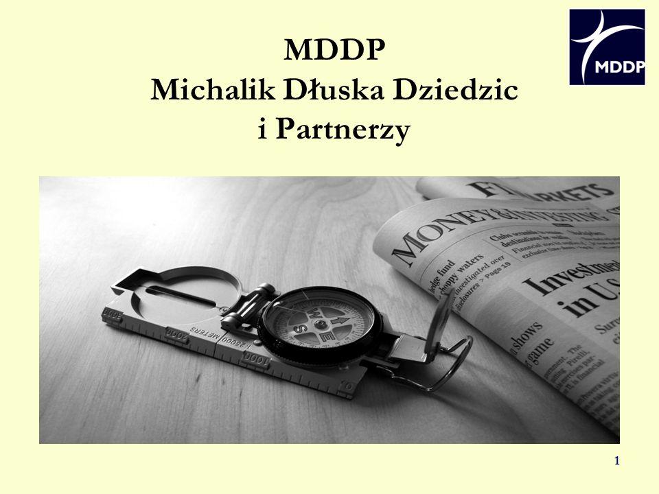 1 MDDP Michalik Dłuska Dziedzic i Partnerzy