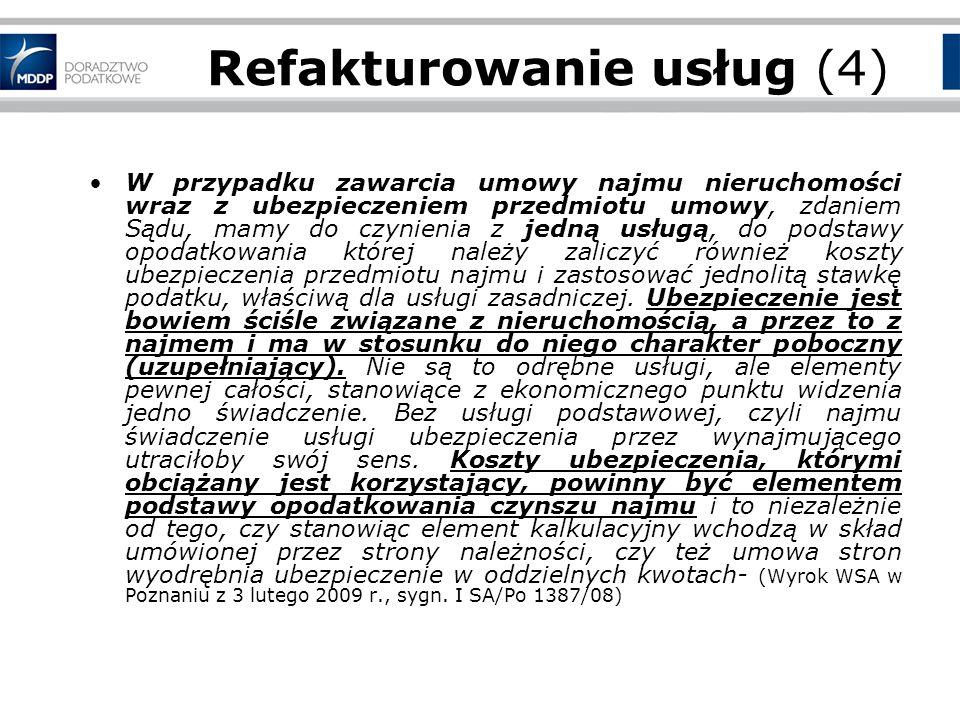 Miejsce świadczenia usług – Zasady obowiązujące od 1.01.2010!!.