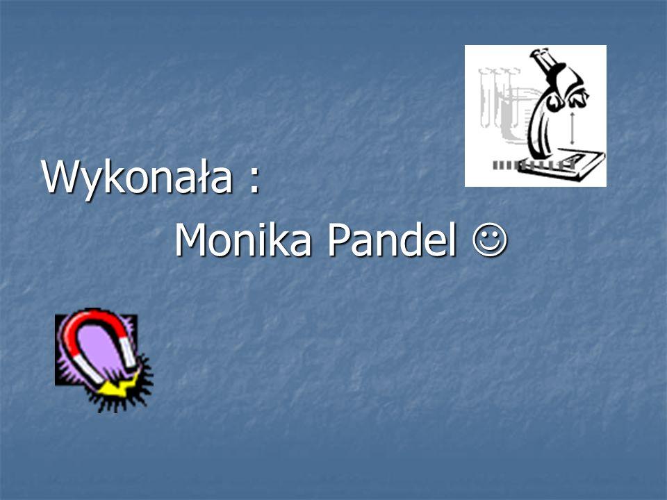 Wykonała : Monika Pandel Monika Pandel