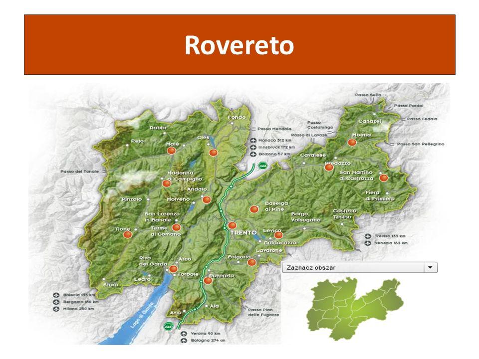 Projekt jest współfinansowany ze środków Unii Europejskiej w ramach Europejskiego Funduszu Społecznego Rovereto