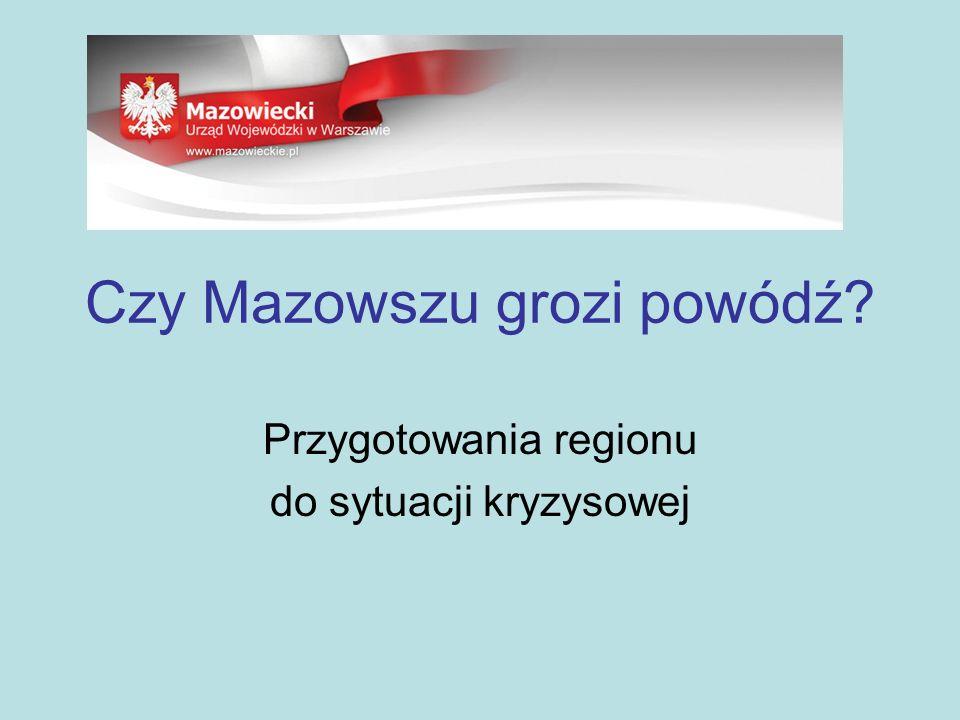 Posiedzenia Wojewódzkiego Zespołu Zarządzania Kryzysowego Wyszogród, 30 czerwca 2009 - analiza stanu technicznego obwałowań Wisły i Bugu - ocena zagrożenia powodziowego w województwie Warszawa, 5 października 2009 r.