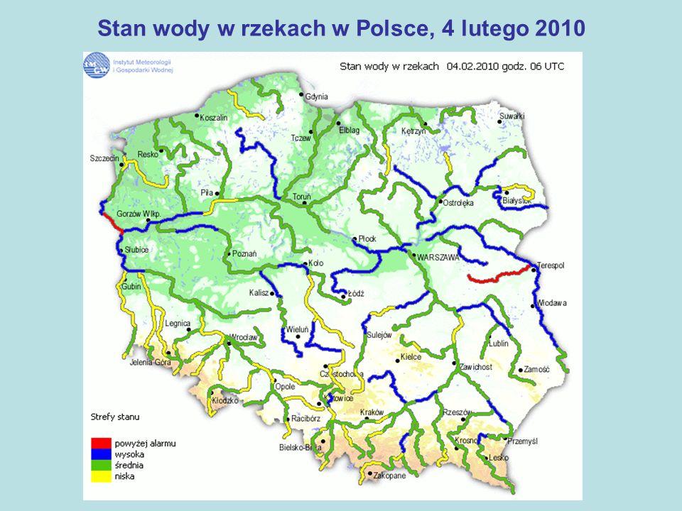 Posiedzenia Wojewódzkiego Zespołu Zarządzania Kryzysowego Płock, 2 stycznia 2010 Ocena stopnia zagrożenia powodziowego na Wiśle i Bugu w pow.