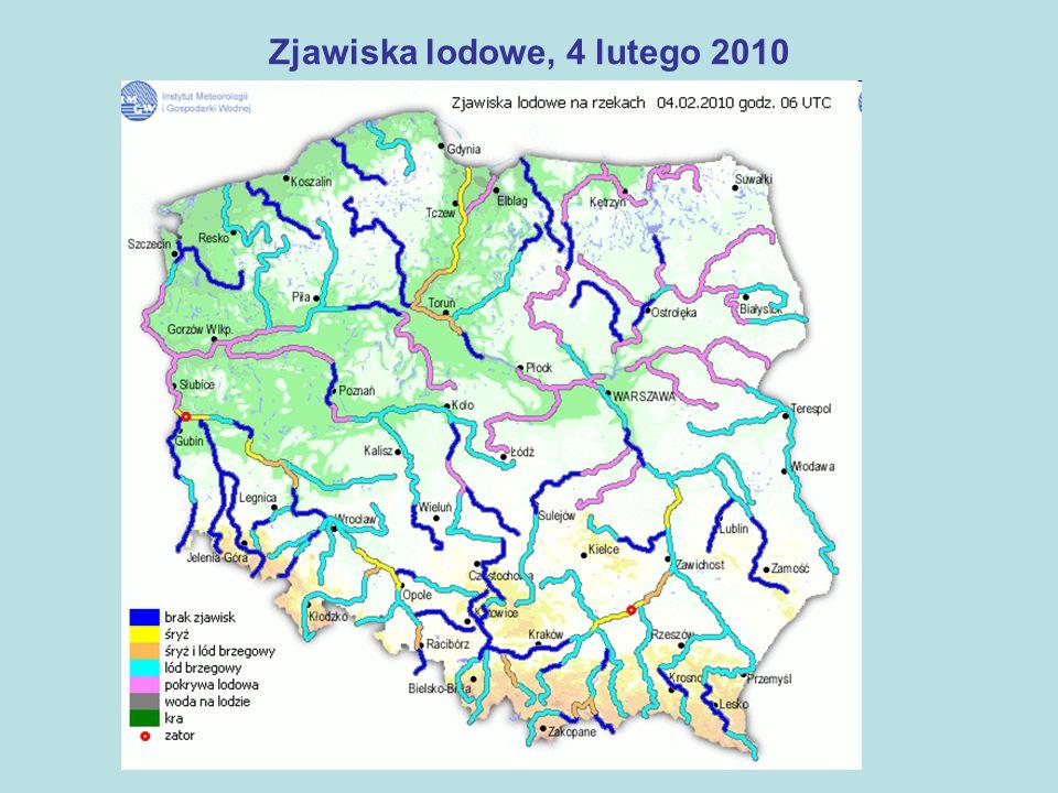 Służby współdziałające (1) Regionalny Zarząd Gospodarki Wodnej - 5 lodołamaczy na Zaporze Włocławek Wojewódzki Zarząd Melioracji i Urządzeń Wodnych - otwarto ponad 300 budowli piętrzących wodę - 112 śluz wałowych - zaopatrzenie magazynu przeciwpowodziowego w Kamionie