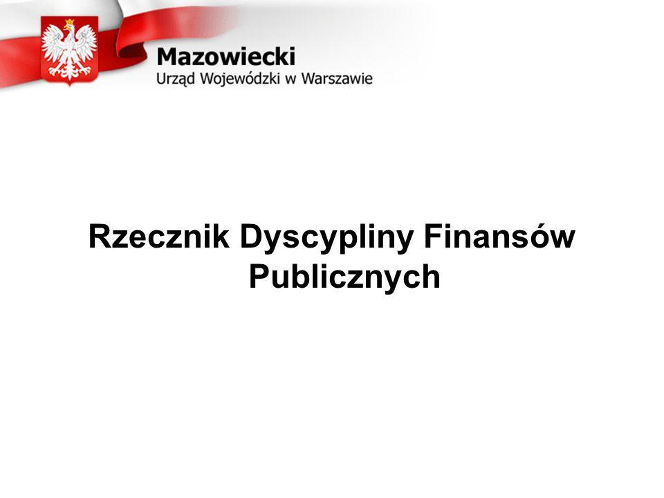 Rzecznik Dyscypliny Finansów Publicznych