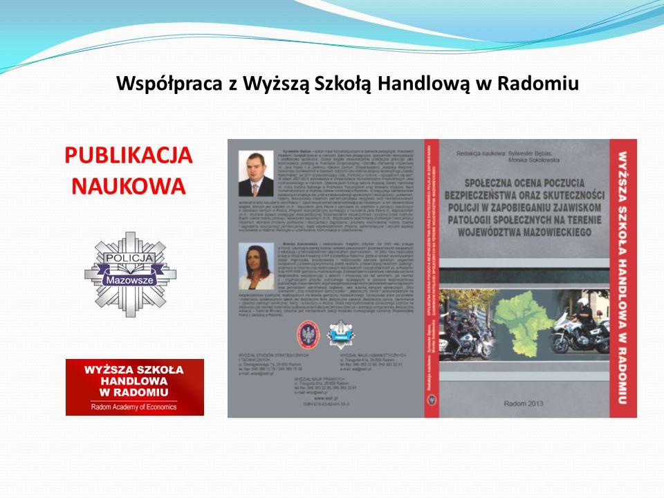 PUBLIKACJA NAUKOWA Współpraca z Wyższą Szkołą Handlową w Radomiu