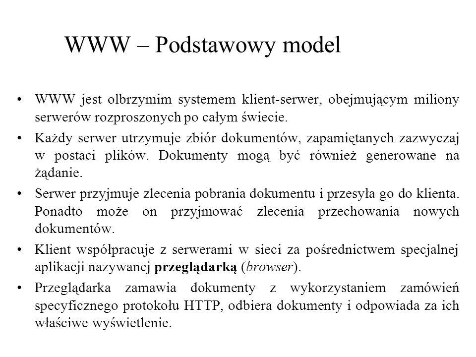 WWW – Przykładowy dokument XML John Smithy Doe 123 Some Str.
