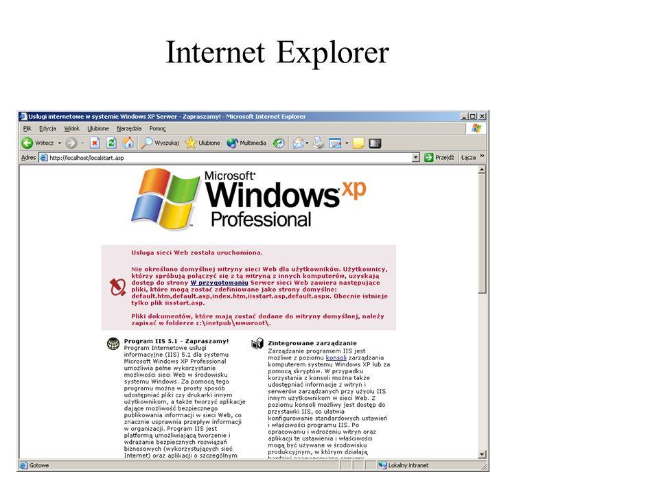 Rozproszone architektury Enterprise Najbardziej znane środowiska typu Enterprise : –CORBA –Enterprise Java Beans –COM+/DNA –.NET –Web Sphere Klient aplikacyjny SOAP Serwer DBMS Zarządzanie danymi Serwer HTTP Logika aplikacji Klient webowy HTML Interfejs użytkow nika