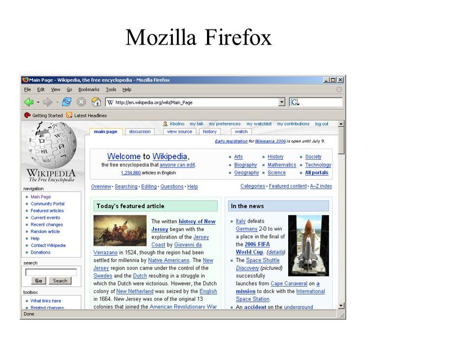 WWW – Lokalizatory URL Podstawowym sposobem wskazania w przeglądarce dokumentów, które zostaną następnie pobrane i wyświetlone, są tzw.