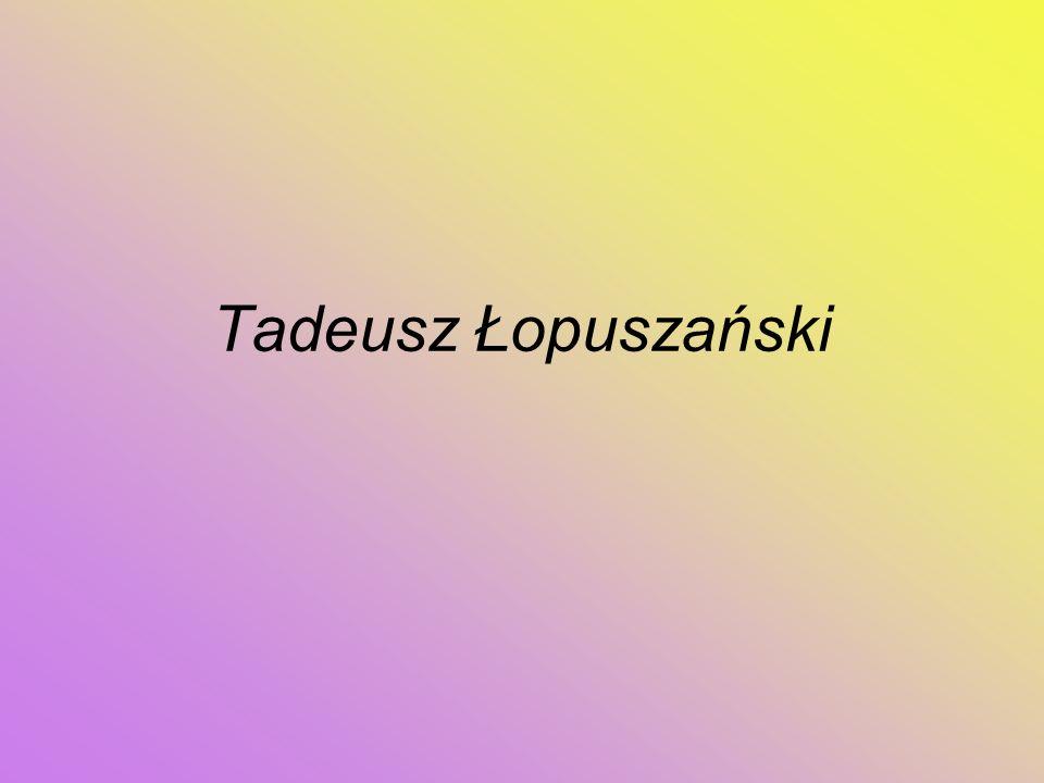 Tadeusz Łopuszański