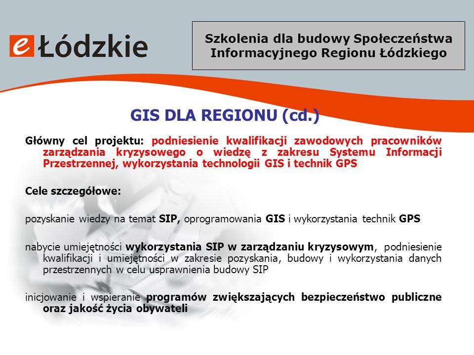 Szkolenia dla budowy Społeczeństwa Informacyjnego Regionu Łódzkiego eŁódzkie – co oferujemy.