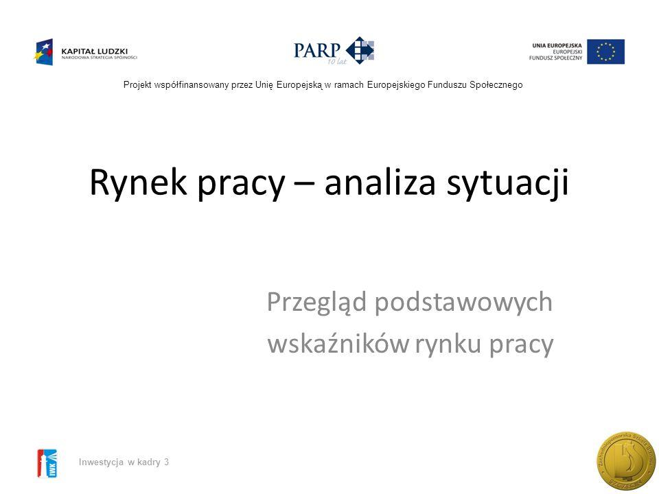Zachodniopomorska Szkoła Biznesu w Szczecinie ELASTYCZNOŚĆ RYNKU PRACY