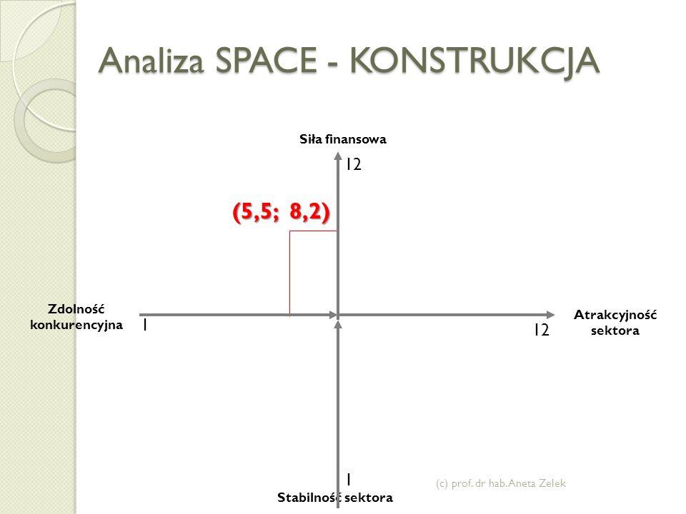 Analiza SPACE - KONSTRUKCJA (c) prof.dr hab.
