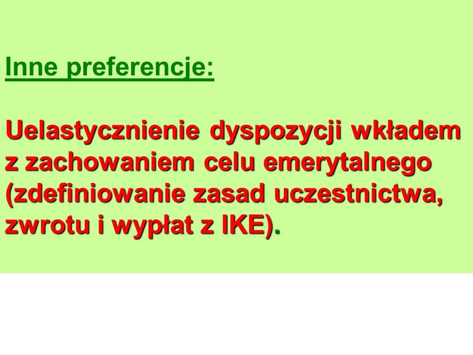 Teza systemowa: Równoległe opodatkowanie S - składkaK - korzyści kapitałoweE - emerytura SKESKESKESKE Filar INNT Filar IINNT Filar IIITNN Filar IIINNT