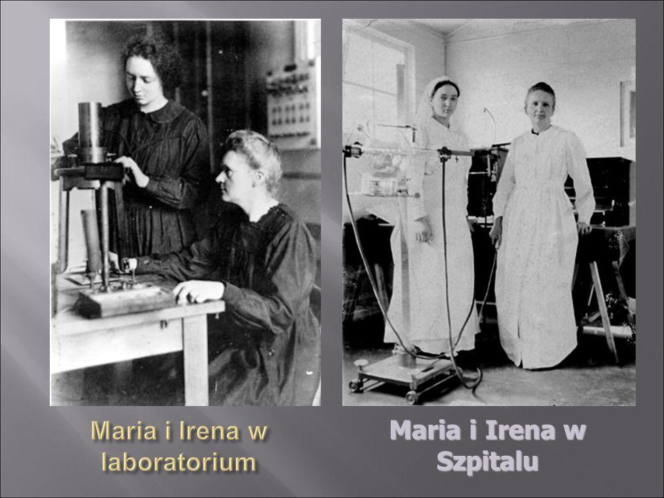 Maria i Irena w Szpitalu