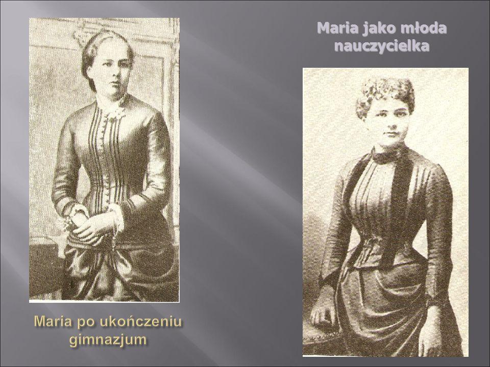 Po roku spędzonym u rodziny Fuschów w Sopocie, Maria powróciła do Warszawy.