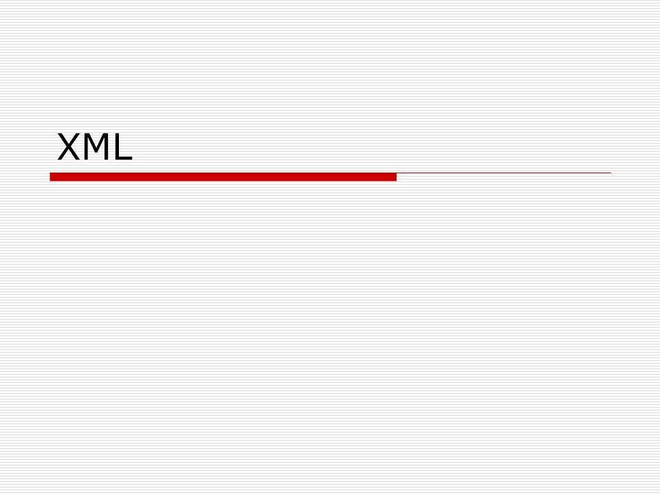 Kodowanie - deklaracja Domyślny standard w XML-u to UTF-8.